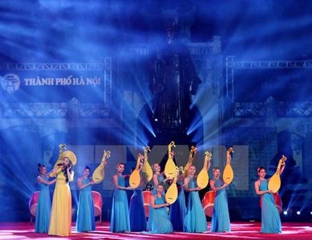 Diversos programas artisticos en saludo al Dia de Liberacion de Hanoi hinh anh 1