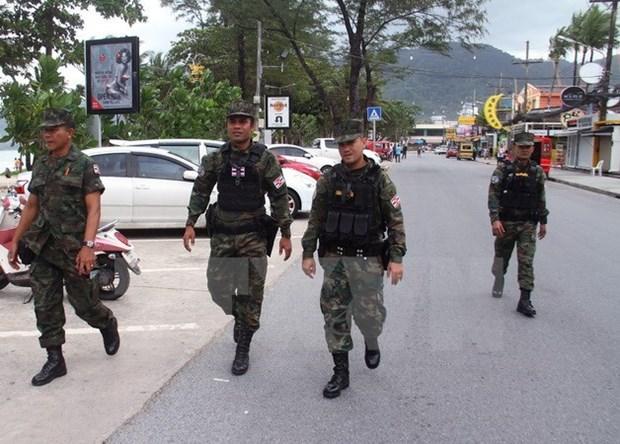 Tailandia refuerza seguridad para evitar posibles ataques con bombas hinh anh 1