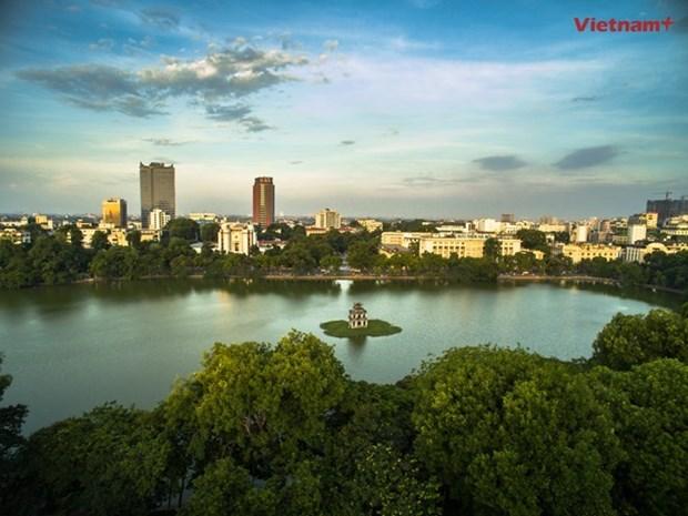 Hanoi atrae casi tres millones de turistas extranjeros en nueve meses hinh anh 1