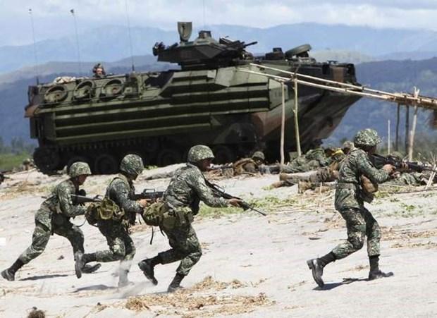 Estados Unidos y Filipinas interrumpen ejercicios militares conjuntos hinh anh 1