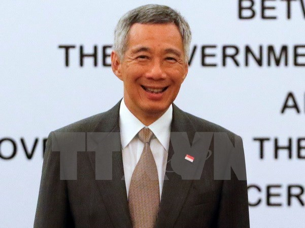 Lee Hsien Loong visita Australia hinh anh 1