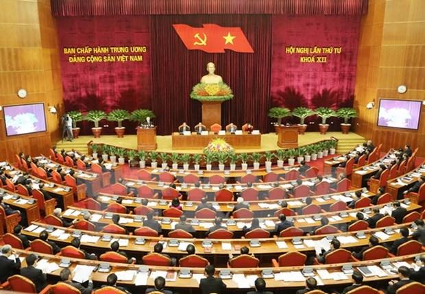 Partido Comunista de Vietnam revisa situacion socioeconomica del pais hinh anh 1