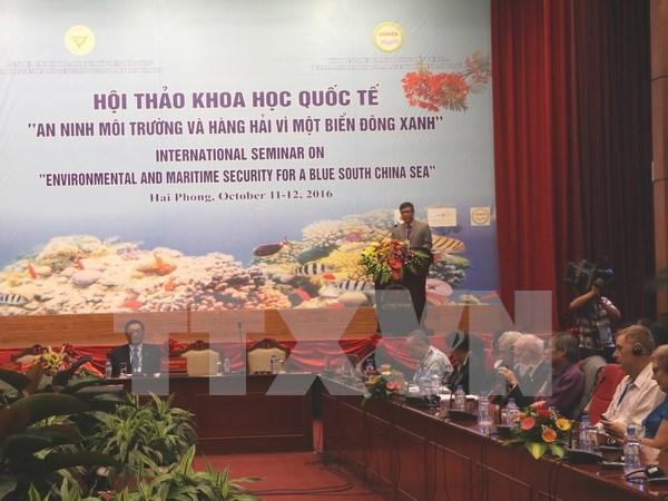 En Vietnam simposio cientifico a favor de un Mar del Este verde hinh anh 1
