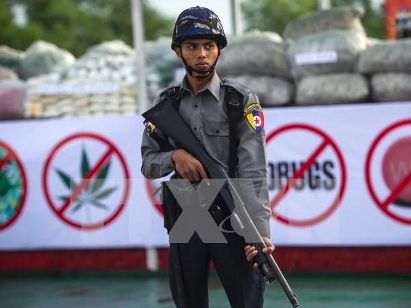 Myanmar refuerza seguridad en el estado de Rakhine hinh anh 1