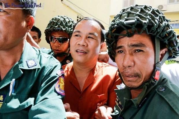 Tribunal de Camboya sentencia a prision a opositor Um Sam An hinh anh 1