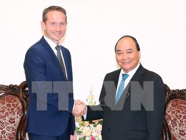 Primer ministro vietnamita aboga por cooperacion en energia verde con Dinamarca hinh anh 1