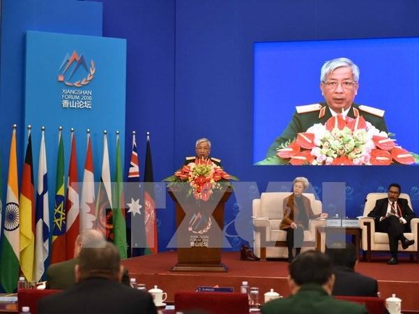 Vietnam llama en Beijing a mantener paz y estabilidad regional hinh anh 1