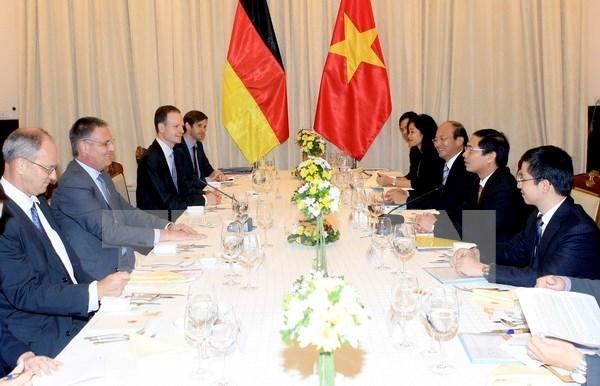 Vietnam y Alemania organizan cuarta reunion del Grupo de Gestion Estrategica hinh anh 1
