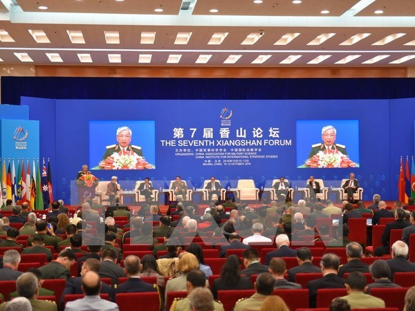 Foro Xiangshan logra consenso sobre seguridad maritima hinh anh 1