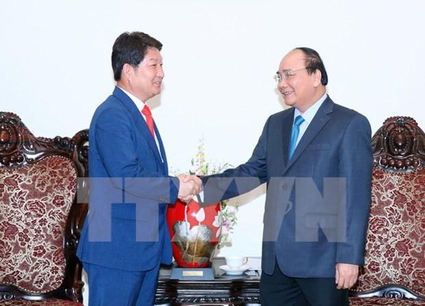 Vietnam insiste en fomentar la cooperacion interprovincial con Sudcorea hinh anh 1