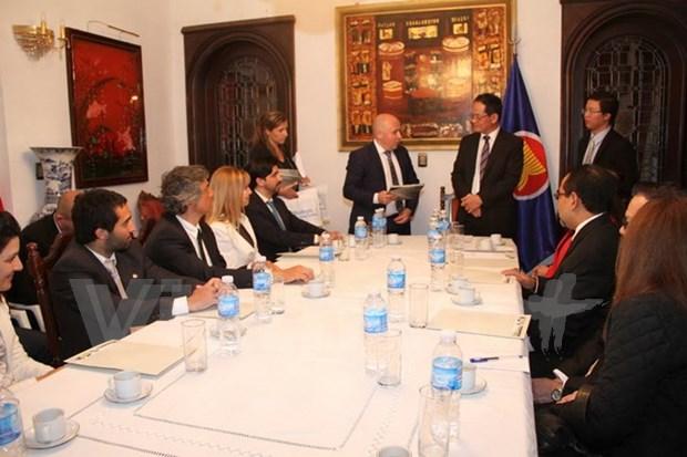 ASEAN fomenta nexos de cooperacion con Argentina hinh anh 1