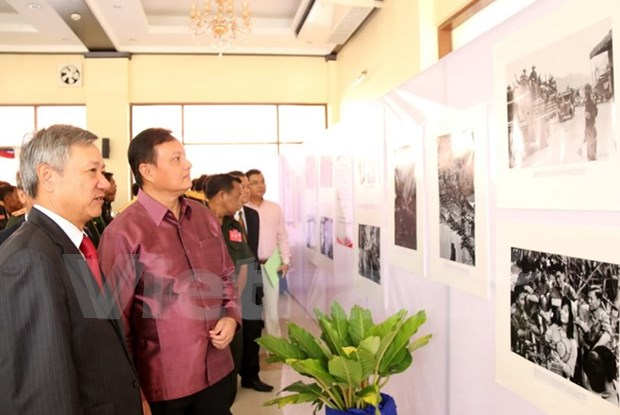 Legendario sendero Ho Chi Minh, simbolo de amistad Vietnam-Laos hinh anh 1