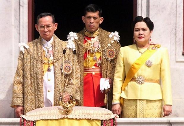 Principe tailandes Maha Vajiralongkorn heredara trono de difunto rey hinh anh 1