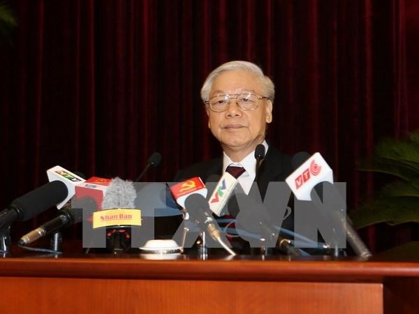 Lider del Partido Comunista de Vietnam urge reforma de modelo economico hinh anh 1