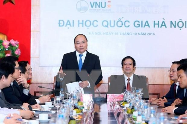 Reclama papel de Universidad Nacional de Hanoi en construccion de nacion de startup hinh anh 1