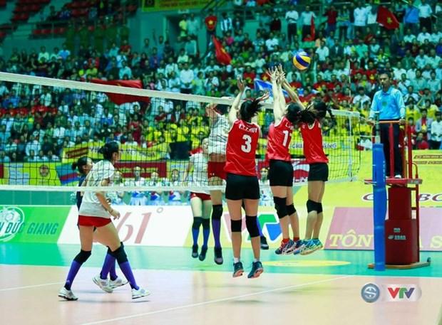 Clausuran torneo internacional de voleibol femenino en Ha Nam hinh anh 1