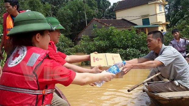 Asistencia urgente para provincias vietnamitas afectadas por inundaciones hinh anh 1