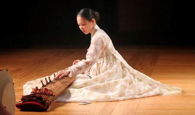 Gala de musica tradicional de Sudcorea en provincia vietnamita hinh anh 1