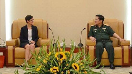 Se realiza septimo Dialogo de Politicas de Defensa Vietnam-EE.UU. hinh anh 1