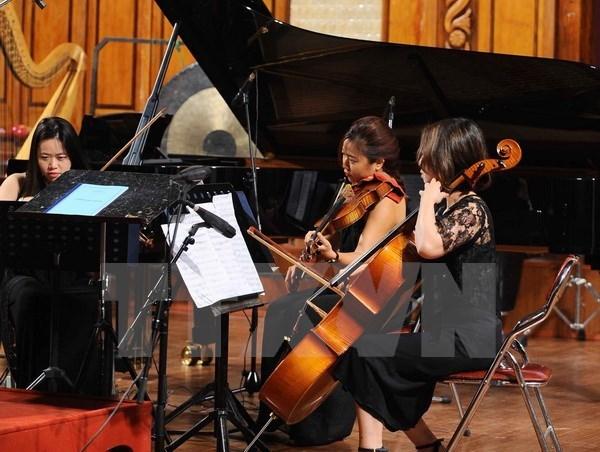 Concierto de amistad anima el Festival de Musica Asia-Europa hinh anh 1