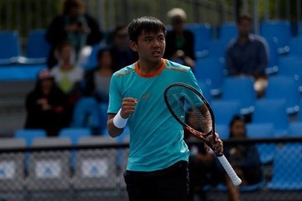 Ly Hoang Nam ocupa el lugar 634 en ranking de ATP de tenis individual masculino hinh anh 1
