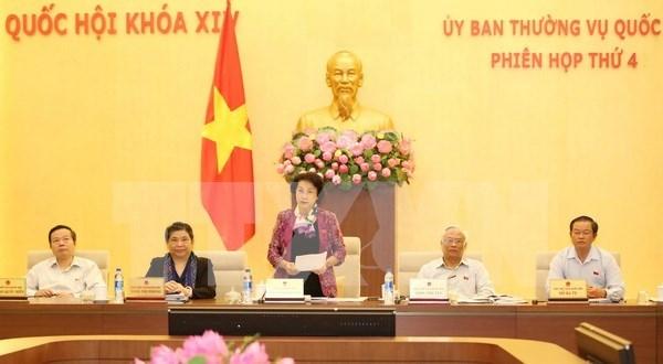 Comite Permanente del Parlamento vietnamita cierra su cuarta reunion hinh anh 1