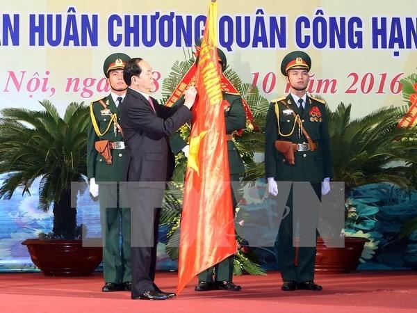 Presidente de Vietnam exhorta a garantizar seguridad de Hanoi hinh anh 1