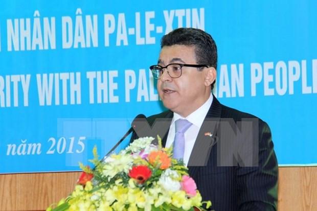 Presidente vietnamita reitera el apoyo a la causa palestina hinh anh 1