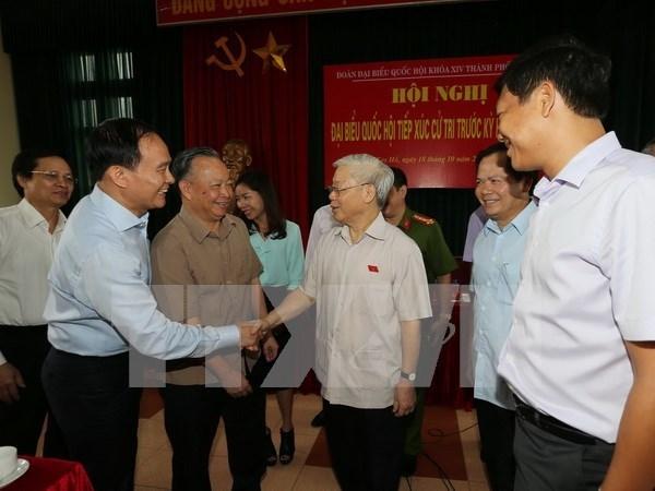 Lider del PCV destaca construccion partidista y anticorrupcion como tarea clave hinh anh 1