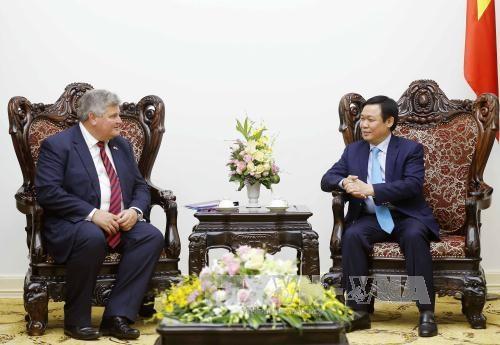 Vicepremier de Vietnam aboga por mayor cooperacion economica con Reino Unido hinh anh 1