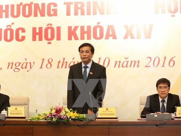 Parlamento de Vietnam aprobara tres leyes en su segundo periodo de sesiones hinh anh 1