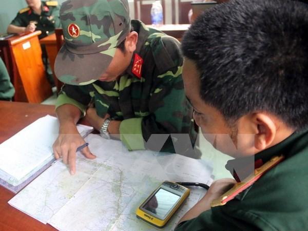 Hallan helicoptero militar desaparecido en Vietnam hinh anh 1