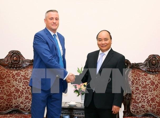 Premier vietnamita aboga por desarrollo de lazos comerciales con Bulgaria hinh anh 1