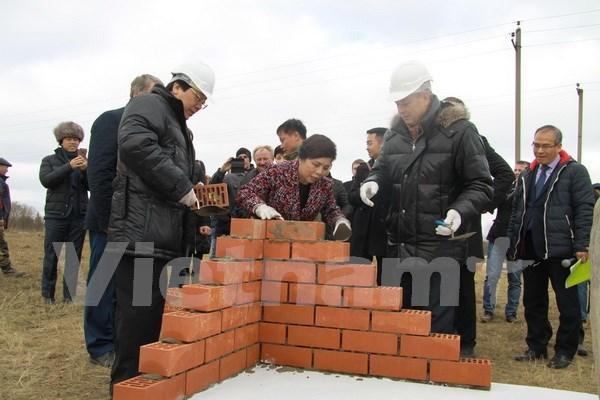 Grupo lechero vietnamita comienza construccion de su segundo complejo en Rusia hinh anh 1