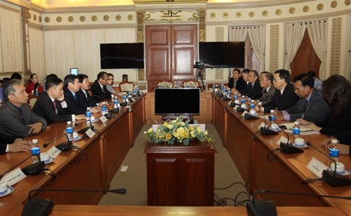 Ciudad Ho Chi Minh prioriza el impulso de cooperacion con Camboya hinh anh 1