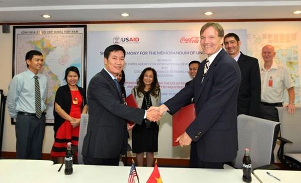USAID y Coca-Cola intensifican aplicacion de energias renovables en Vietnam hinh anh 1