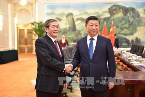 Vietnam atesora las relaciones con China, asevera dirigente partidista hinh anh 1