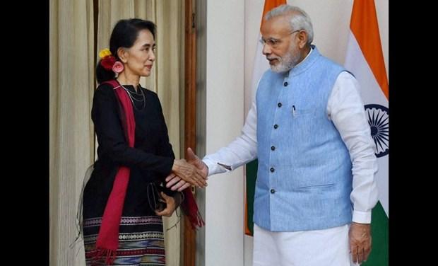 Myanmar e India fomentan cooperacion en varios sectores hinh anh 1