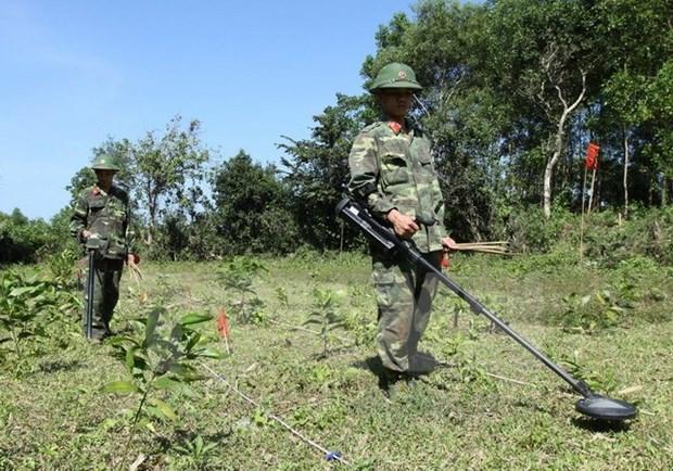 Esmerado Vietnam en remediar secuelas de minas remanentes de guerra pasada hinh anh 1