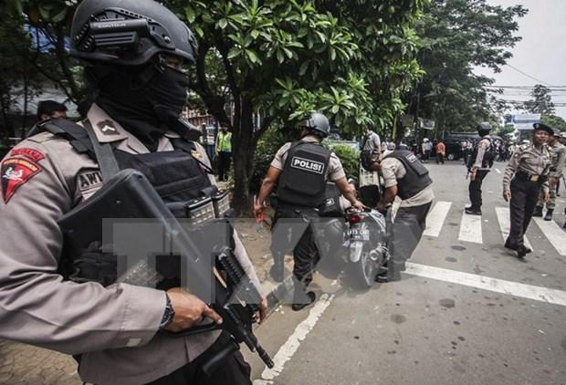 Un supuesto simpatizante de EI ataca policias de Indonesia hinh anh 1