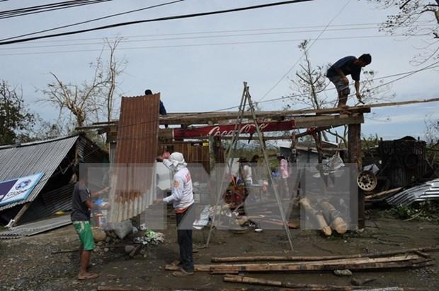 Tifon Haima deja al menos cuatro muertos en norte de Filipinas hinh anh 1
