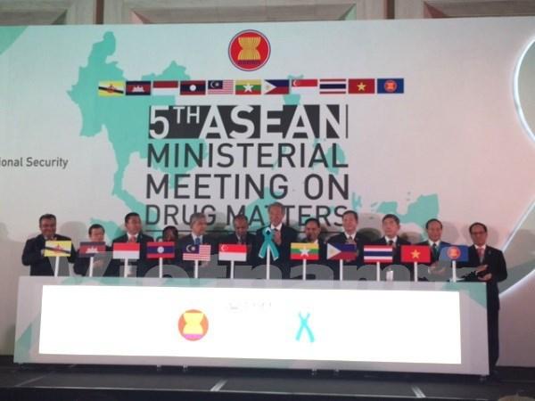 Vietnam sigue apoyando lucha antidroga de la ASEAN hinh anh 1