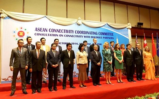 ASEAN busca fortalecer conectividad intrabloque hinh anh 1