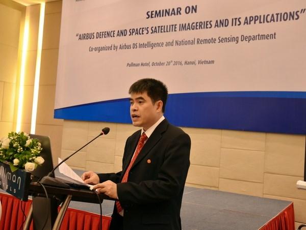 Airbus promueve uso de imagenes de deteccion remota en Vietnam hinh anh 1