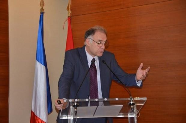 Empresas vietnamitas y francesas analizan oportunidades de cooperacion hinh anh 1