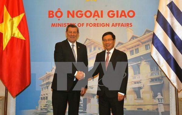 Vietnam y Uruguay proponen crear un comite para cooperacion economica hinh anh 1