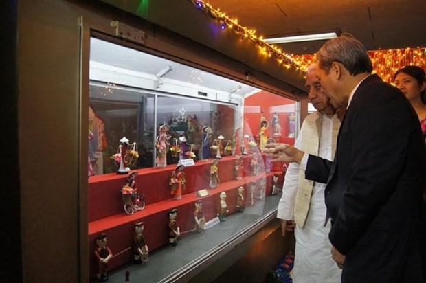 Cultura de Vietnam en Museo de munecas en India hinh anh 1