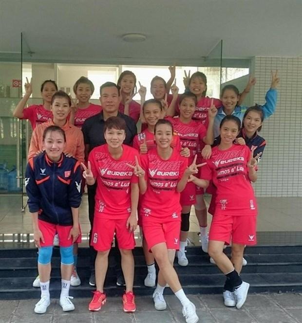 Dos medallas de oro para Vietnam en la Copa del Rey de Sepak Takraw hinh anh 1