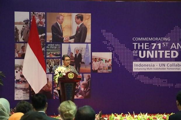 Conmemoran en Indonesia fundacion de la ONU hinh anh 1