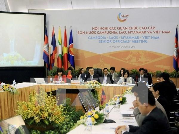 En Hanoi reuniones de altos funcionarios en preparacion para CLMV 8 y ACMECS 7 hinh anh 1